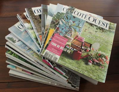 Magazine Hoarding Fanned Pile